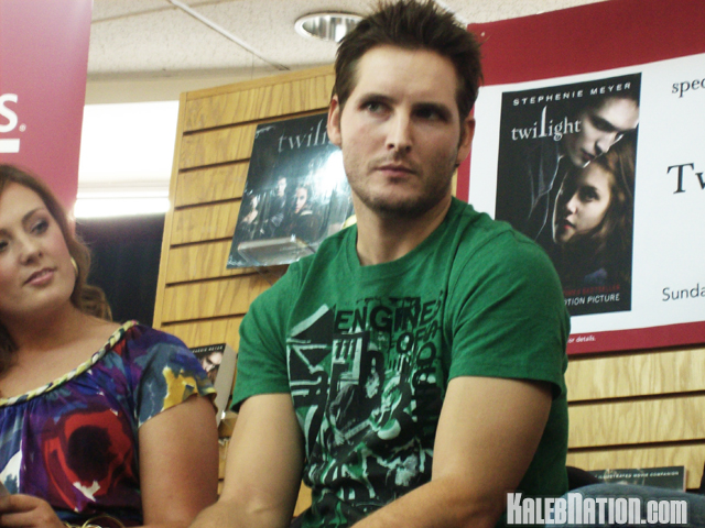 Peter Facinelli at Twilight Live