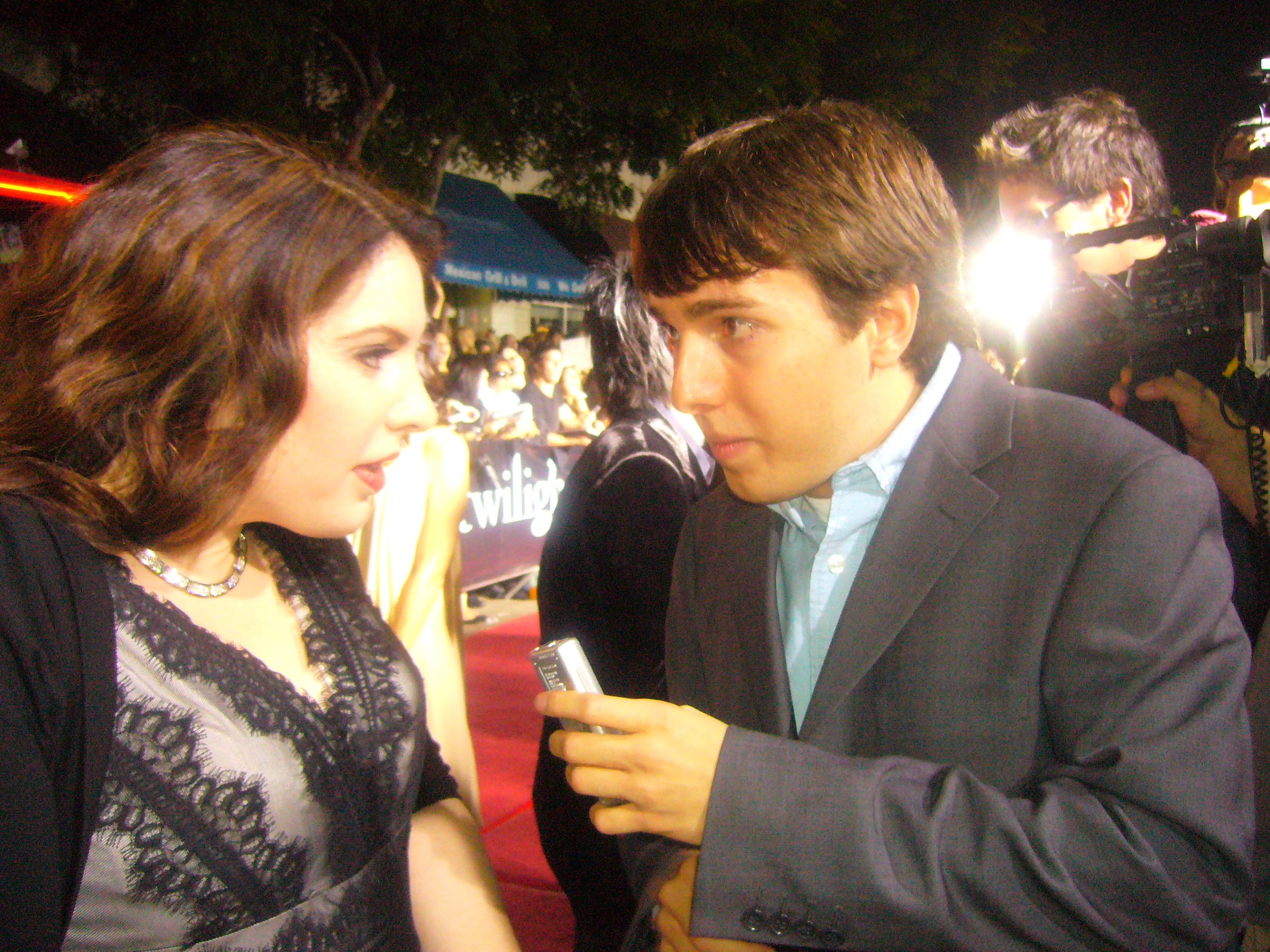 Talking to Stephenie Meyer