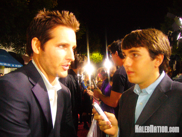 Peter Facinelli and me