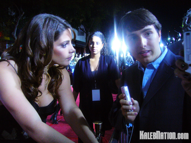 Interviewing Ashley Greene
