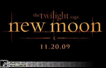 New Moon Logo, from MTV